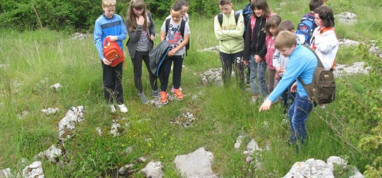 Children from Buzet learned about water conservation in karst area: (26 – 27 May 2015)